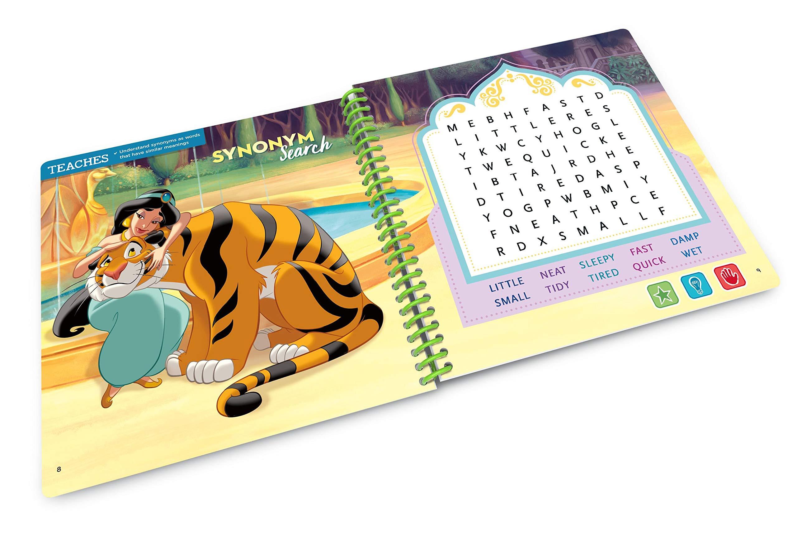Leapstart Preschool: Disney Princess Shine with Vocabulary Activity Book (3D Enhanced) by LeapFrog (Image #3)