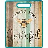 Boston Warehouse Always Bee Grateful Cutting Board, One Size, Blue