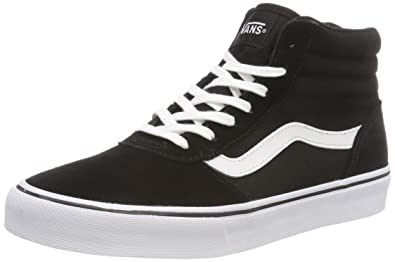 8f2bc60213 Vans Women s Maddie Hi Suede Canvas Top Trainers  Amazon.co.uk ...