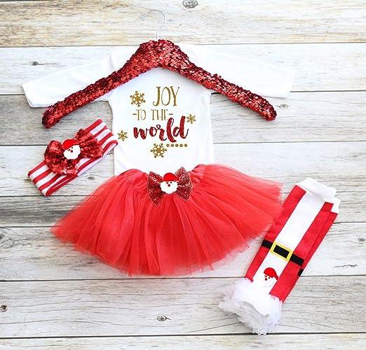 Image Unavailable - Amazon.com: Baby Girl Christmas Tutu, Baby Girl Christmas Outfit
