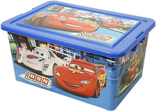 Disney – 800123 – Cars – Caja de almacenaje – 35 L: Amazon.es ...