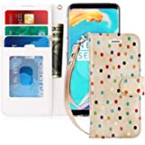 FYY Samsung S9 Case, S9 Cover [Kickstand Feature] Flip Folio Samsung Galaxy S9 PU Leather Wallet Case with [Card Slots] [Note Pockets] and [Magnetic Closure] Phone Case for Samsung Galaxy S9 Pattern 36