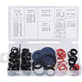 Blue Spot 40536 125PCE Tap Reseater Washer Assortment, Set of 125 Pieces