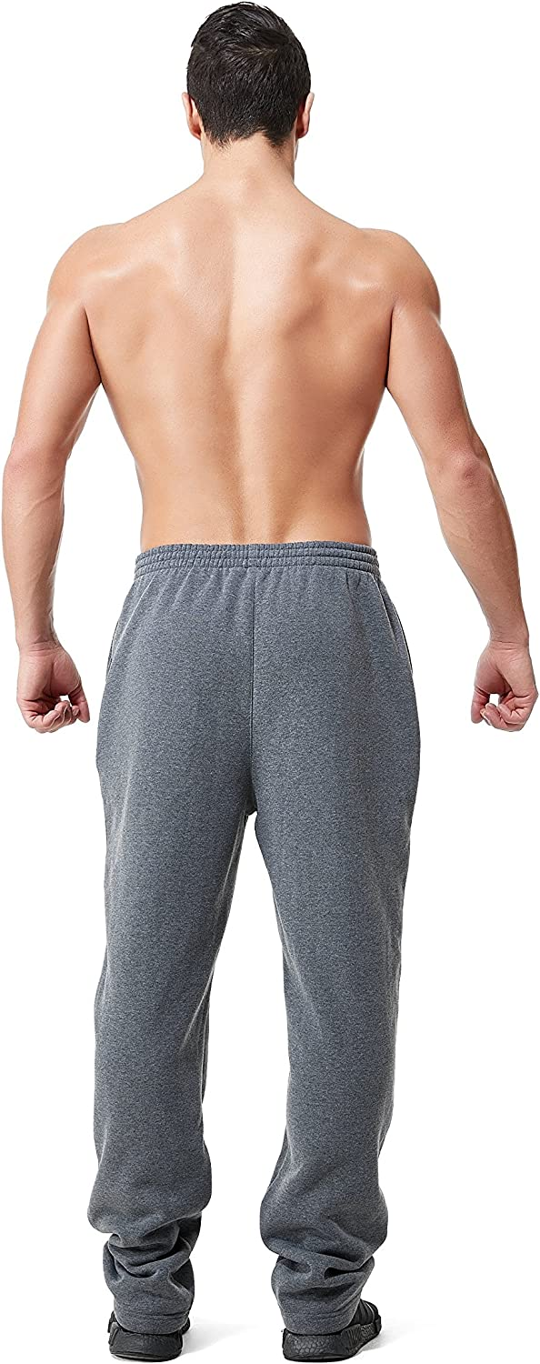 Greatrees Mens Big /& Tall Jogger Fleece Pants with Pockets