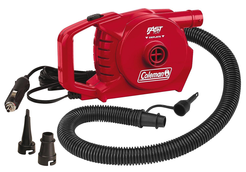 Coleman 12 Volt - Bomba eléctrica para Acampada, Color Rojo, Talla Standard Coleman UK Ltd 2000019880 2000019880_MEHRFARBIG