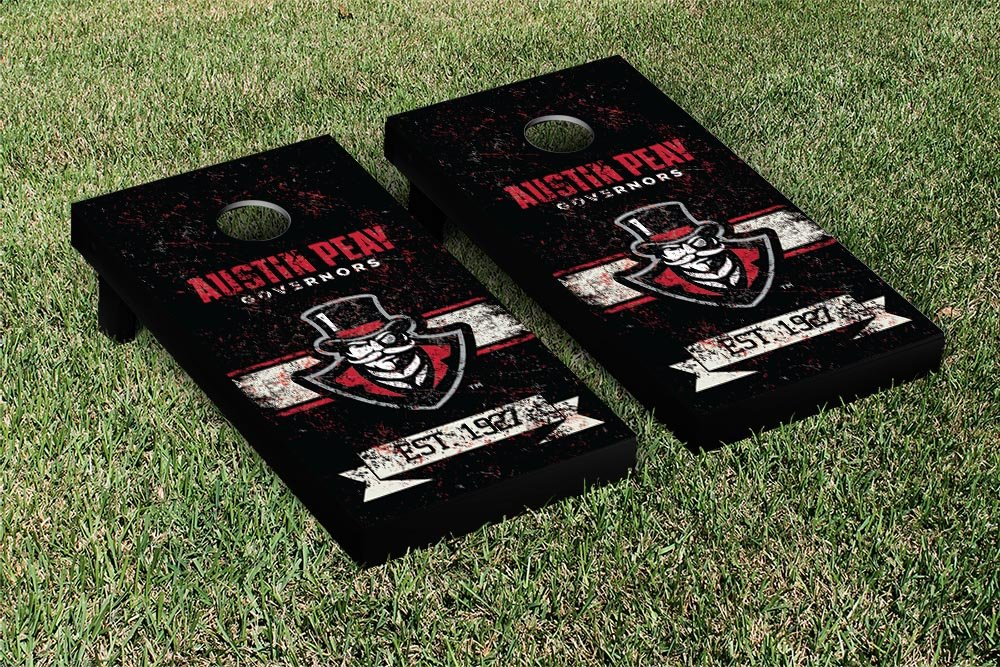Austin Peay State Governors Cornhole Game Setバナーヴィンテージバージョン   B00Q52170O