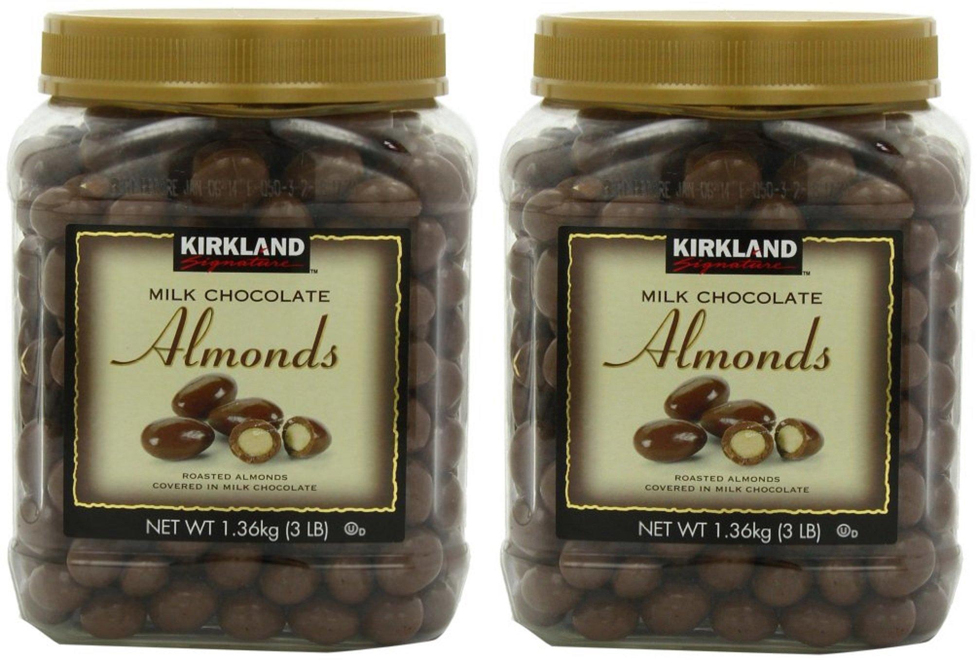 Signatures Milk Chocolate, Almonds, 48 Ounce wMynJH, 2Pack (48 Ounce)