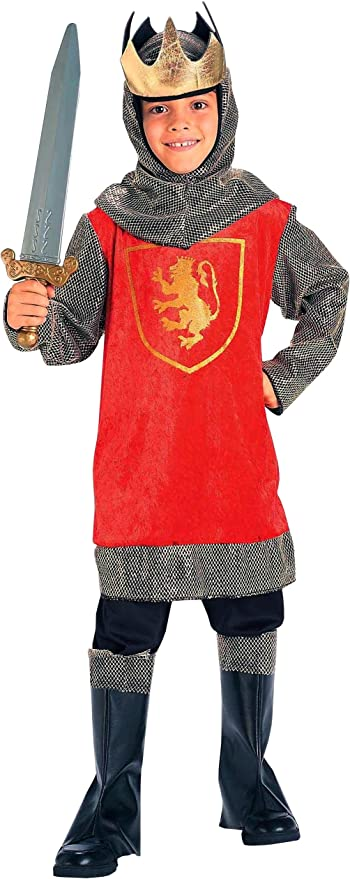 Forum Novelties Crusader King Child Costume, Large