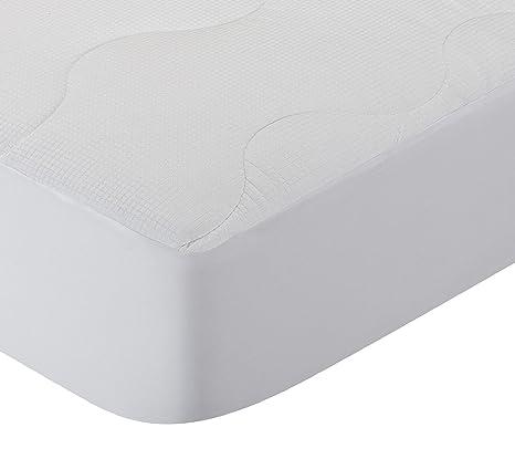 Pikolin Home - Protector de colchón acolchado cubre colchón, termorregulador, transpirable, 180 x