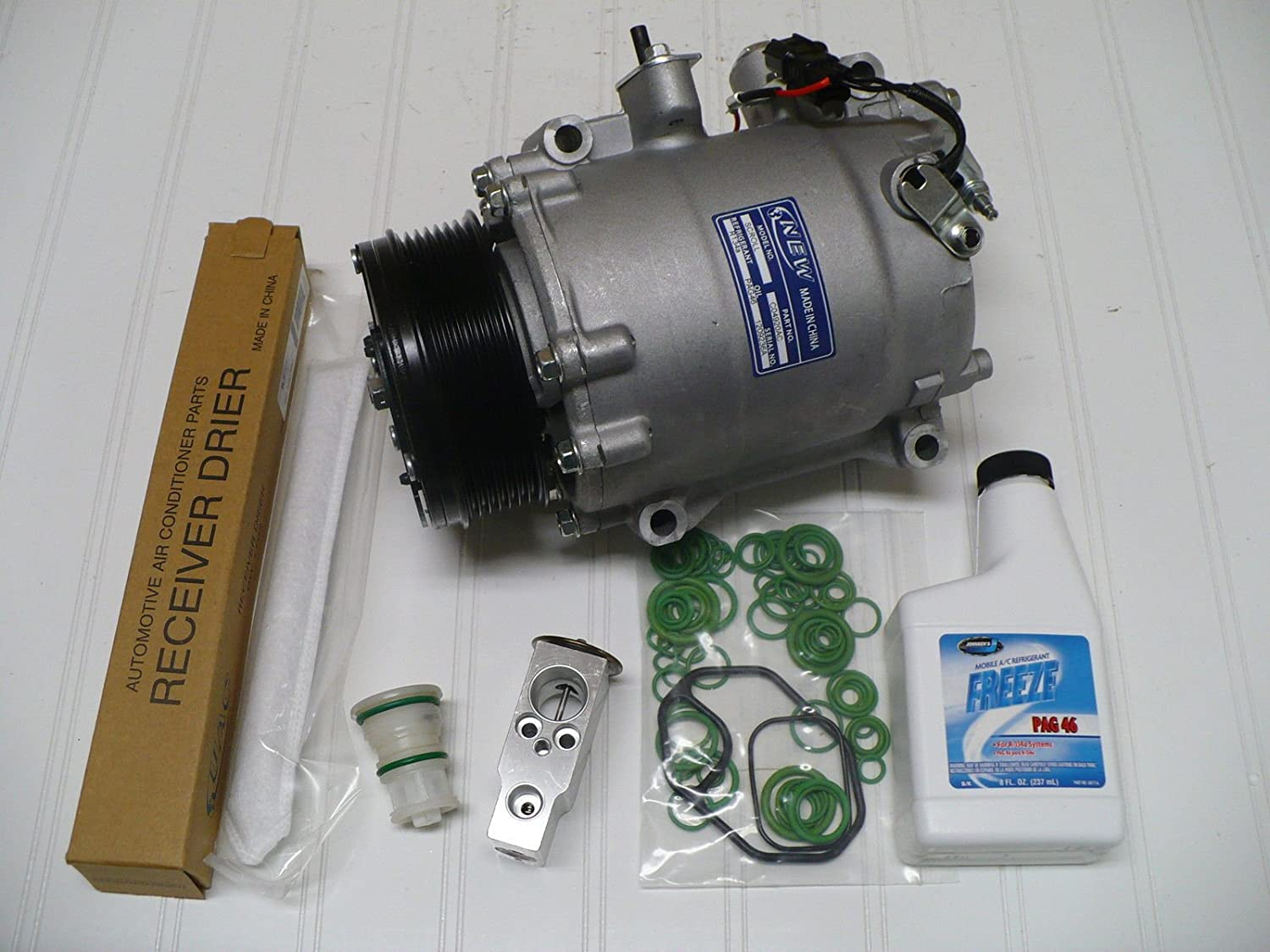 Amazon.com: New A/C Compressor Kit for 2007-2015 Honda CR-V, 2012-2014 Honda Si Coupe: Automotive