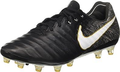 artillería he equivocado desconocido  Nike Tiempo Legend VII AG-Pro, Botas de fútbol para Hombre, Negro  (Black/White/Black/Metallic Vivid Gold), 42.5 EU: Amazon.es: Zapatos y  complementos