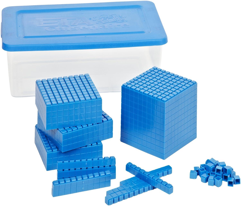 一番人気物 ETA hand2mindブルーInterlox Base Ten Ten Blocks,配置値のセットセット(322 ETA ) ) B008N1BGA6, SHINY-MART:74e6ac91 --- diceanalytics.pk