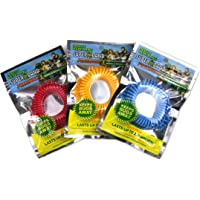 Superband Premiums Pack of 10 Individually Wrapped All Natural Mosquito Repellent Bracelets!