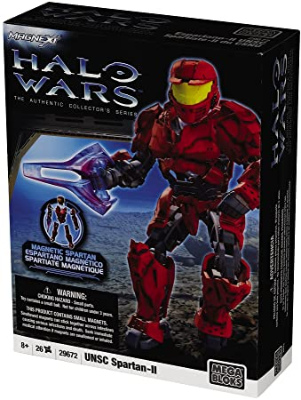 Halo Wars, Mega Bloks, Foxtrot, Red Spartan Mark IV | eBay