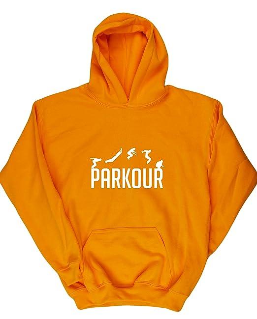 HippoWarehouse Parkour jersey sudadera suéter derportiva unisex niños niñas: Amazon.es: Ropa y accesorios