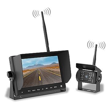 Amazon.com: LYNX SENSE Wireless Backup Camera System – Easy ...