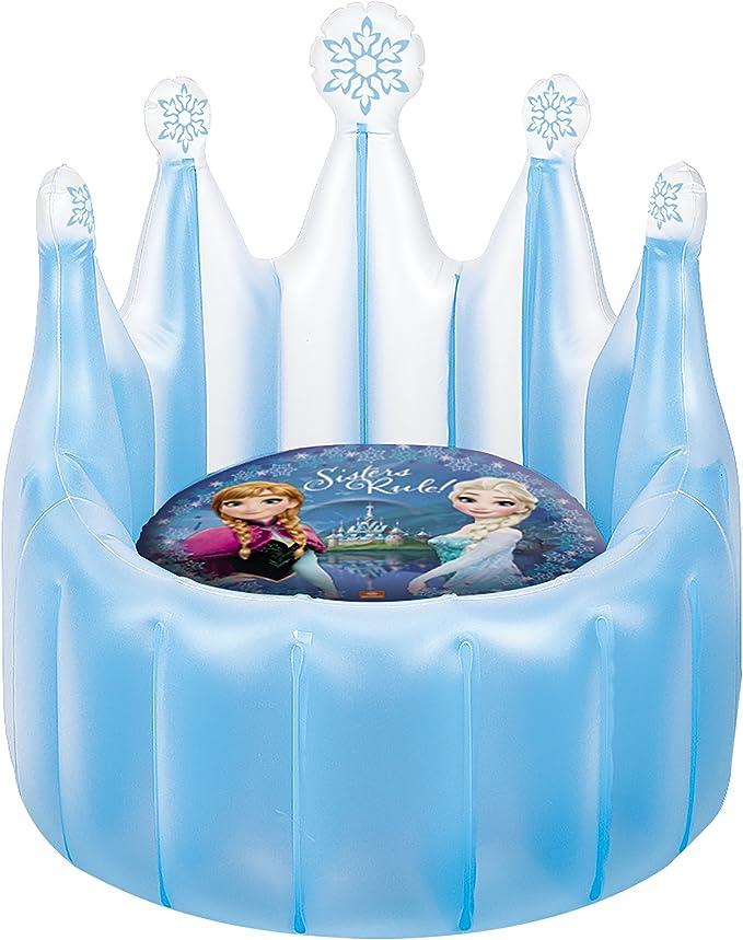 Disney Frozen - Trono-sillón Hinchable (Mondo 16650): Amazon.es ...