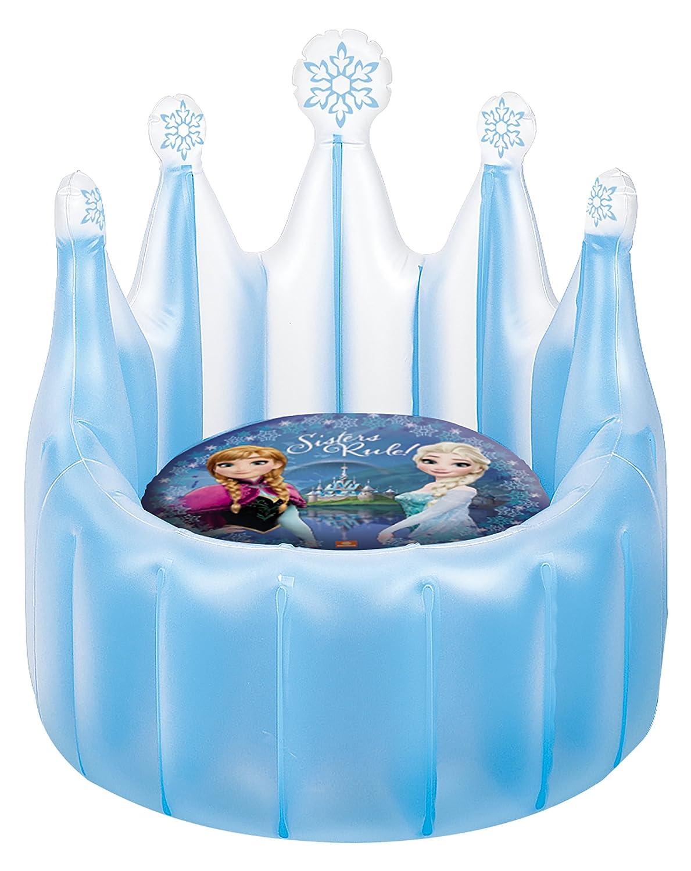 Disney Frozen - Trono-sillón Hinchable (Mondo 16650): Amazon ...