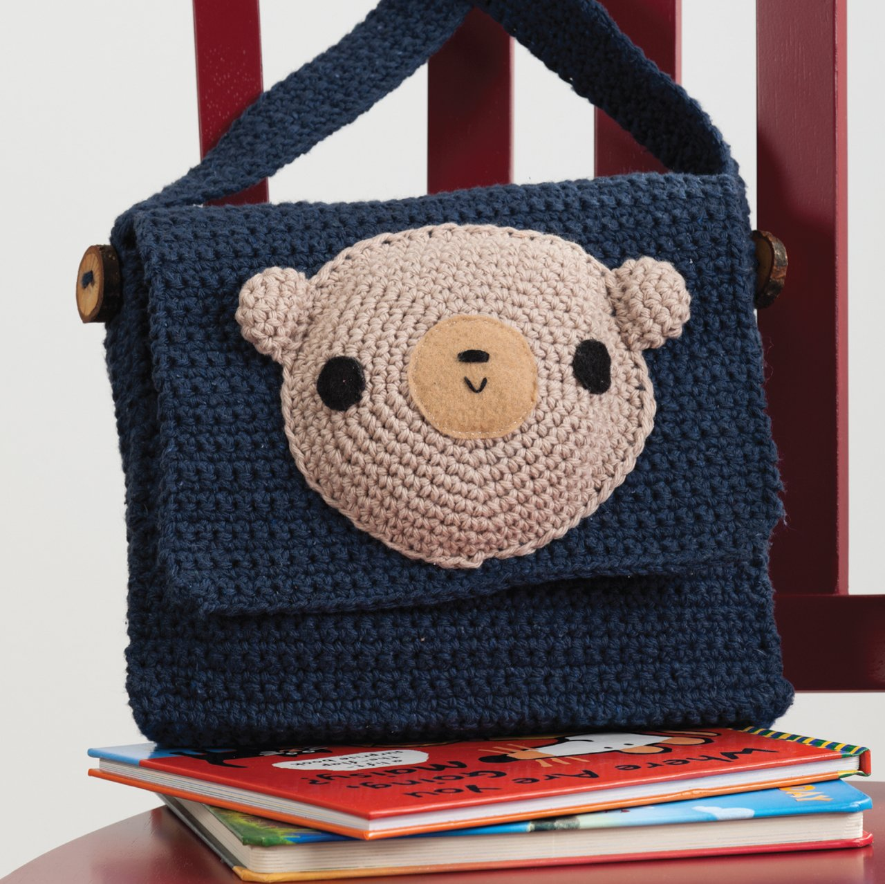 Amigurumi on the go 30 patterns for crocheting kids bags amigurumi on the go 30 patterns for crocheting kids bags backpacks and more ana paula rimoli 9781604682137 amazon books bankloansurffo Choice Image