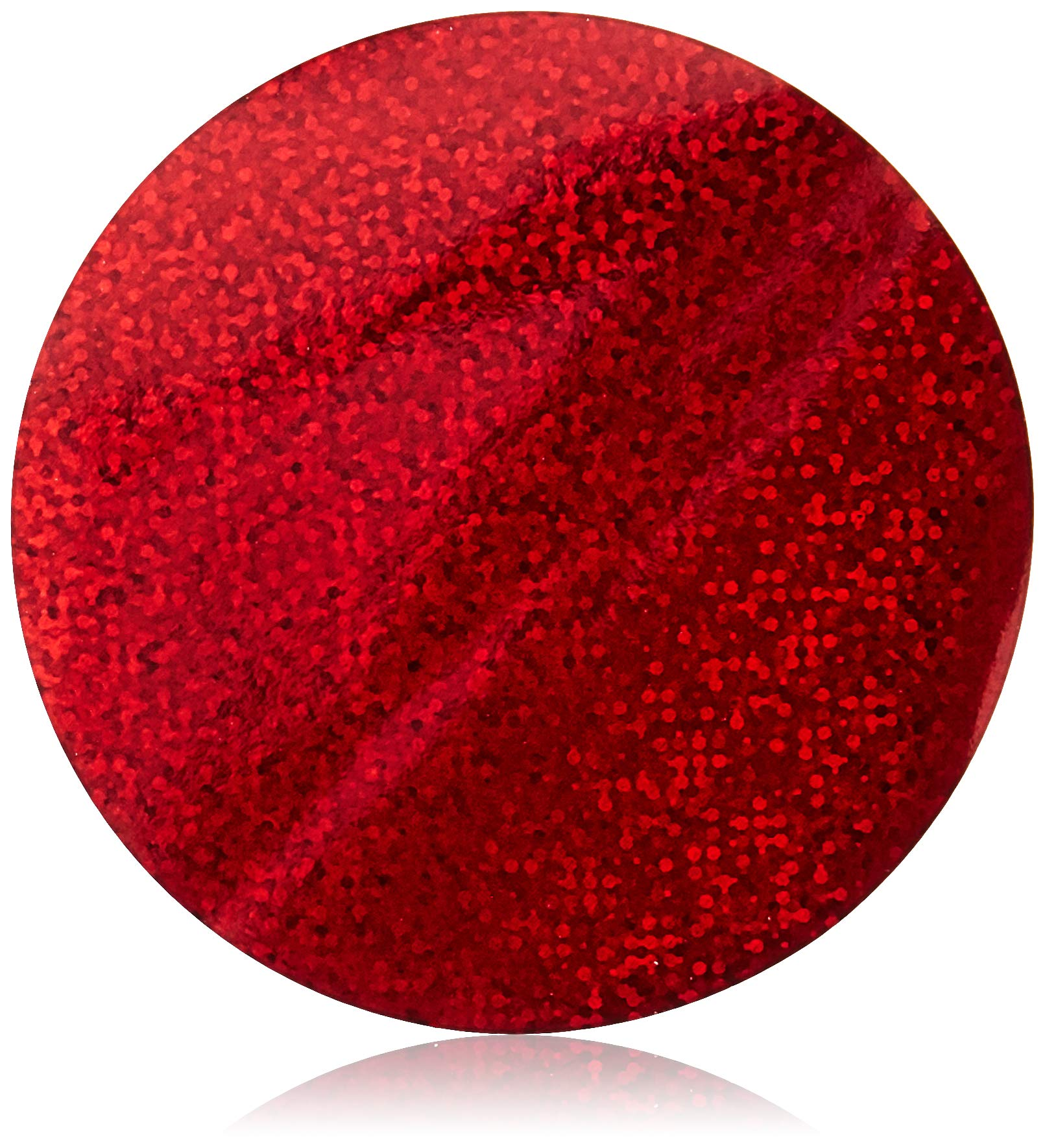 Mettoo Red Holographic Sparkle Body Foil Festival Pro, 1000 Count