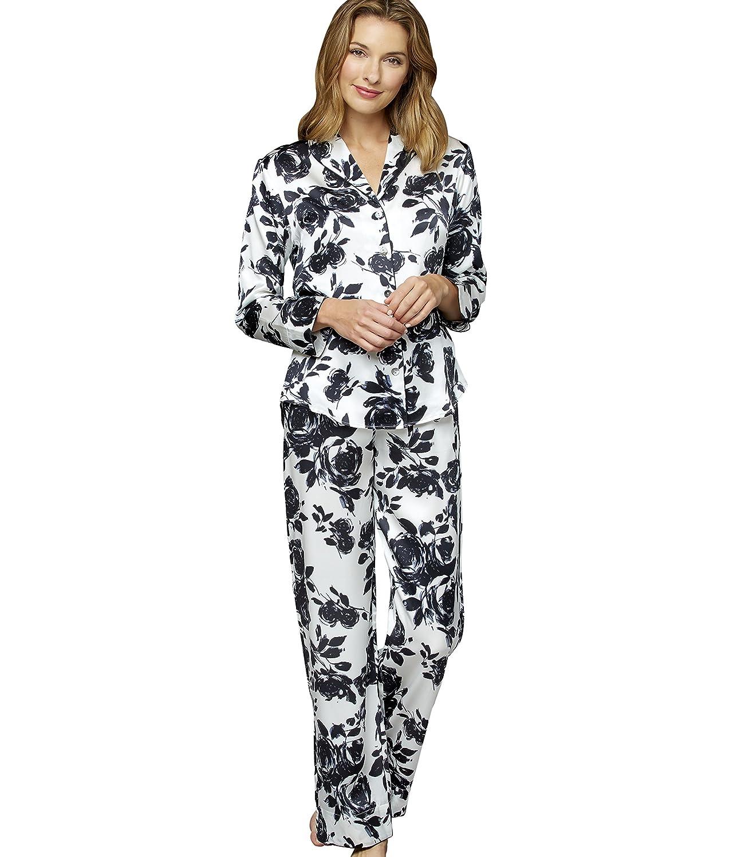 c080982b8a7c Julianna Rae Women s 100% Mulberry Silk Pajama Set