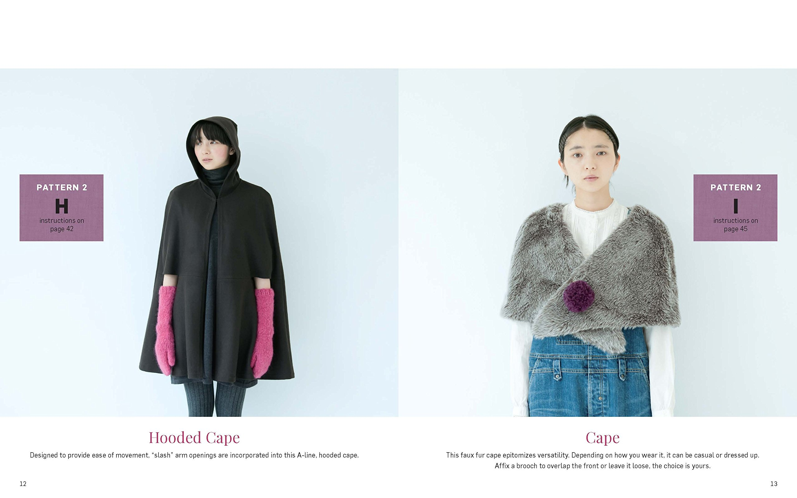 Stylish Wraps Sewing Book: Ponchos, Capes, Coats and More ...