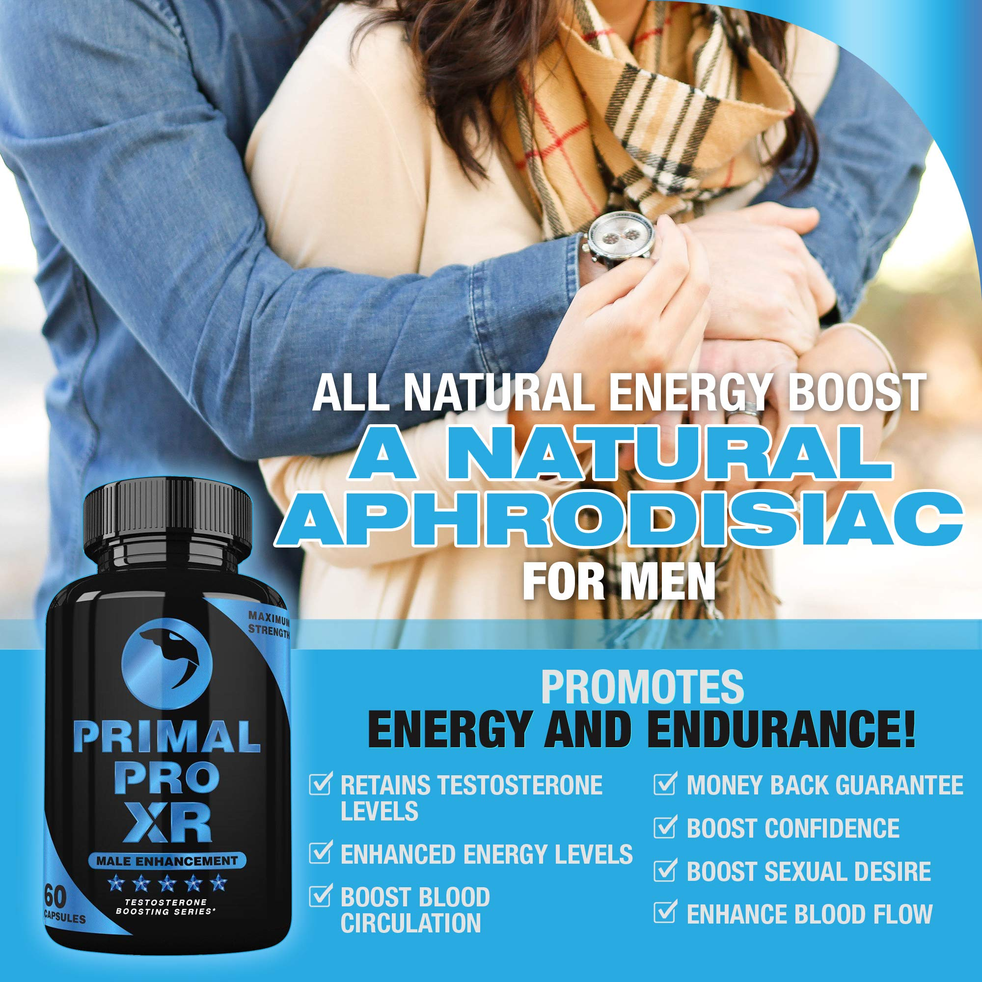 Primal Pro XR - Male Enhancement - Extra Strength Testosterone Booster - Naturally Boost Your Libido, Stamina, Endurance, Strength & Energy for Men & Women - Burn Fat & Build Lean Muscle Mass Today by Primal Pro XR (Image #3)