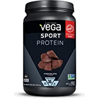 Vega Sport Protein Powder, Chocolate, Plant Based Protein Powder Post Workout - Certified Vegan, Vegetarian, Keto…