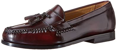 Cole Haan Men's Pinch Grand Tassel Loafer, Burgundy, ...