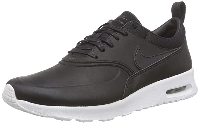 best sneakers b6eb1 2d4d7 Nike Women s Air Max Thea Premium Low-Top Sneakers, Black - Schwarz (007  BLACK BLACK-ANTHRACITE-WHITE), 2.5 UK  Amazon.co.uk  Shoes   Bags