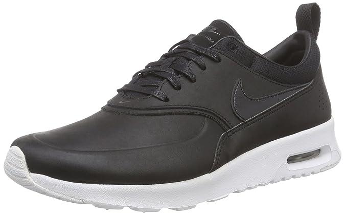 Nike WMNS NIKE AIR MAX THEA PRM - Zapatillas Mujer, Negro (Black / Black-Anthracite-White), 37 1/2: Amazon.es: Zapatos y complementos