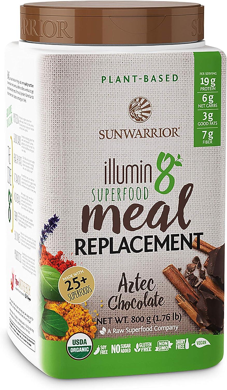 Sunwarrior Illumin8 Aztec Chocolate - 800 gr