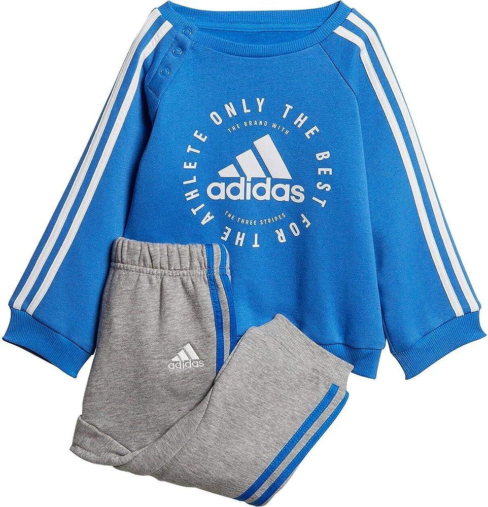 adidas I 3S Jogg FL Chándal, Unisex bebé, Multicolor (azuaut ...