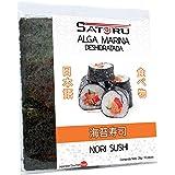 Satoru Alga Marina Nori Para Sushi, Característico salado (alga marina), 10 piezas