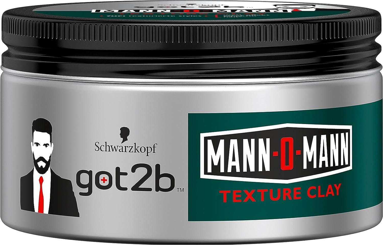 Got2B Texture Clay Uomo o uomo Halt 5, confezione da (2X 100ML) 2MOT