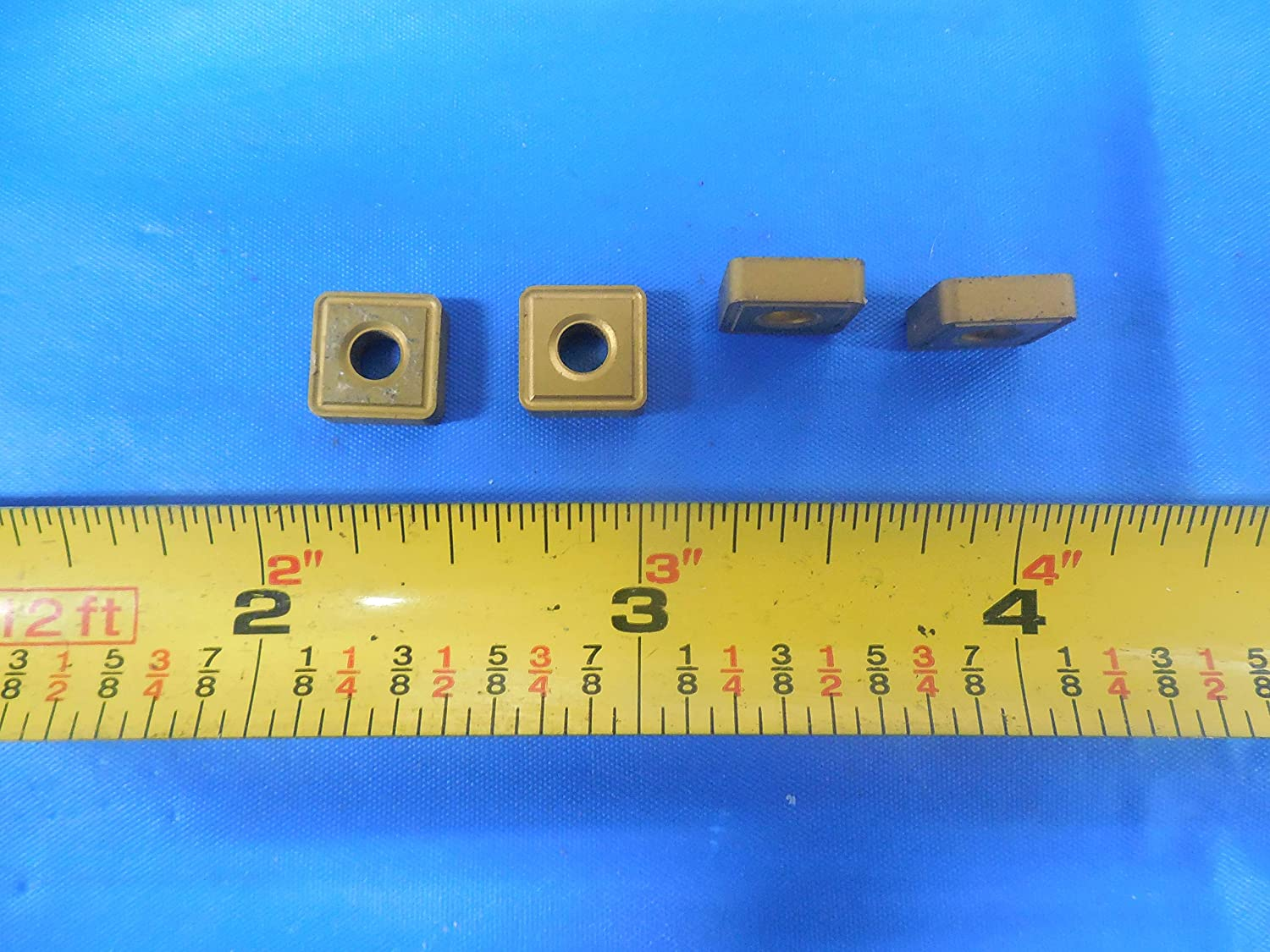 18PCS New KENNAMETAL SNMM 323 Carbide Inserts Grade KC850 Turning 1//8 Thick 3//8