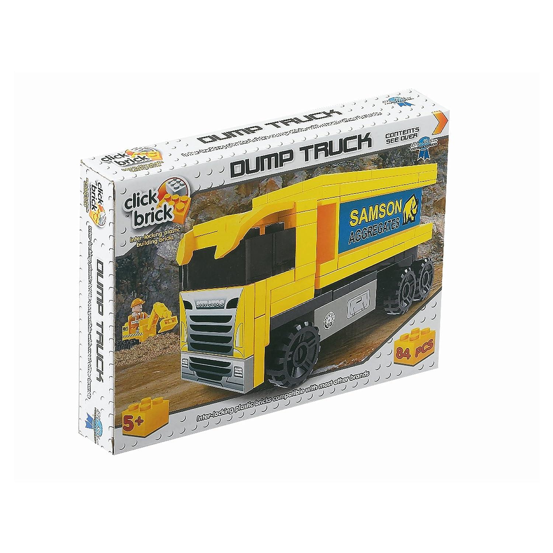 Click Bricks Dump Truck Set (84Piece)