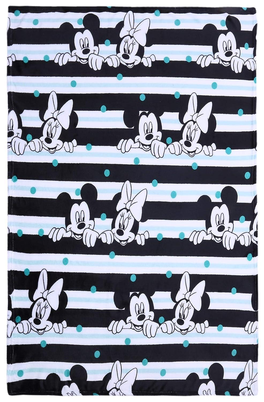 Coperta bianco-nero 120x150 Topolino DISNEY