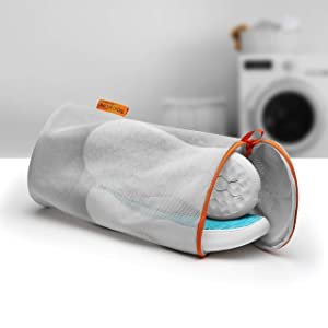 Jazba Shoe Laundry Dryer and Wash Bag, Reusable Mesh Premium Travel Luggage Organizer Durable for Washing Sneaker, in Machine and Drier- Home Organization, M