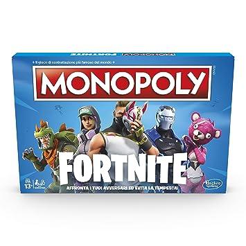 Hasbro Monopoly fortnite Juego, Versión en Italiano: Amazon ...