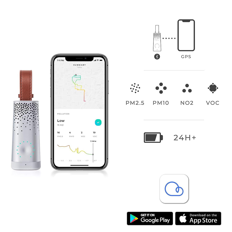 Flow, el Sensor Personal de Contaminación del Aire, por Plume Labs