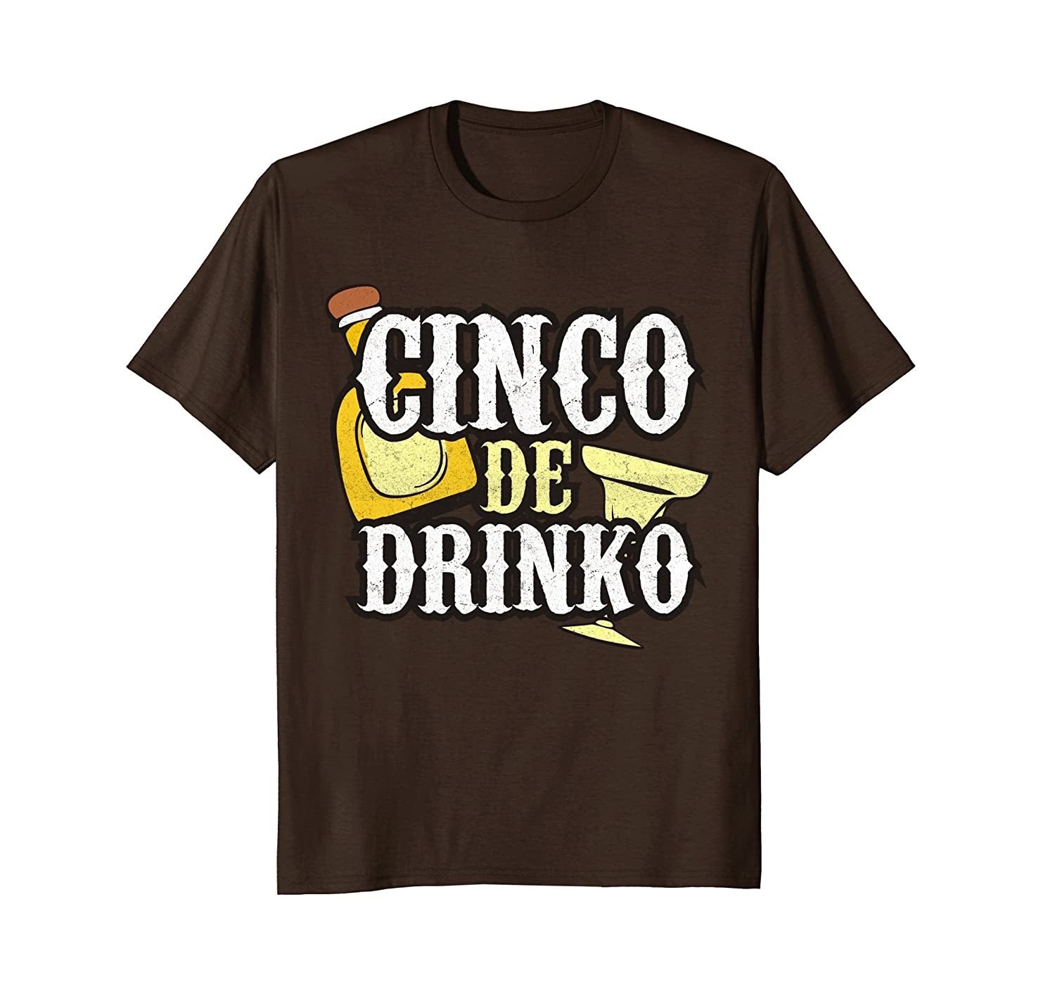 Funny Cinco de Mayo Drinko Celebration T-shirt-alottee gift
