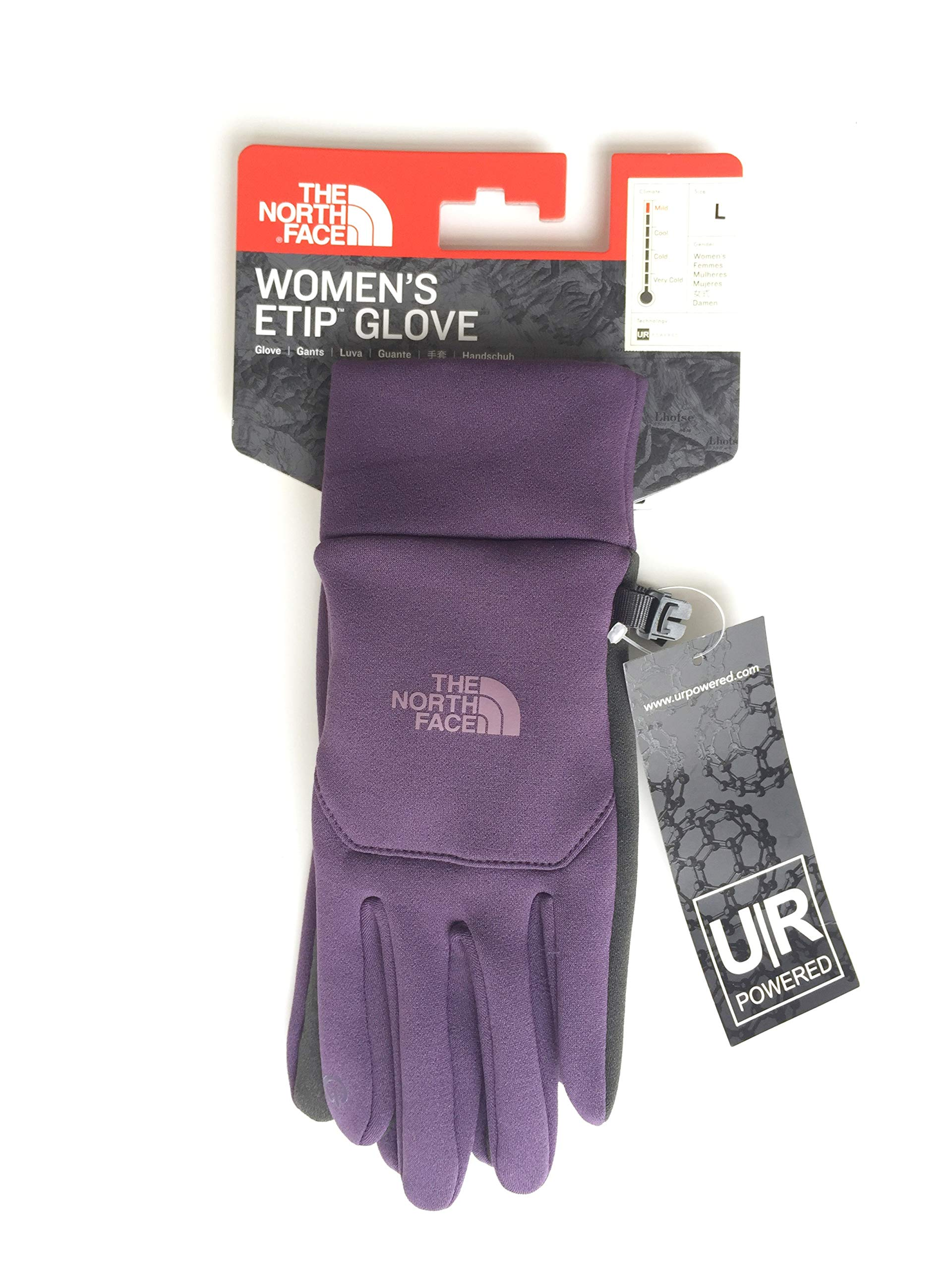 The North Face Etip Glove Womens Dark Eggplant Purple S