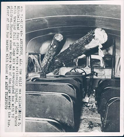 Amazon com: Vintage Photos 1948 Photo Disaster Car Accident