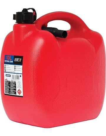 Sumex CAR+ Bidon05 - Bidón Gasolina de plástico con Tubo Flexible, 10 Litros, color