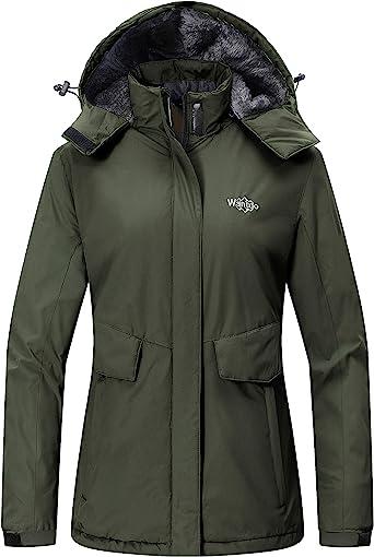 Details about  /Wantdo Women/'s Mountain Waterproof Ski Jacket Windproof Rain Jacket Winter Warm