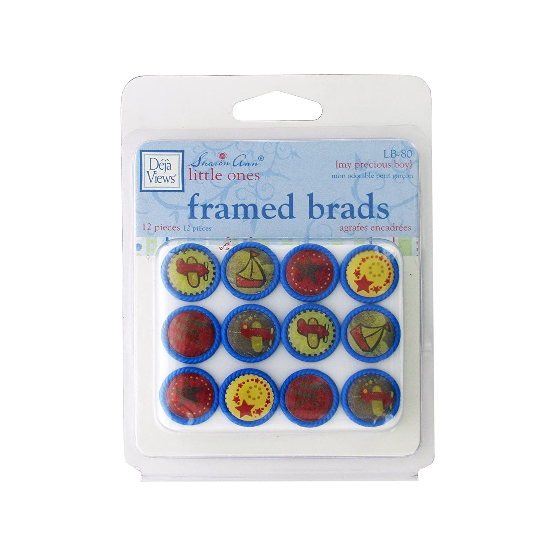 bulk buys Kole Imports CG704 My Precious Boy Framed Brads