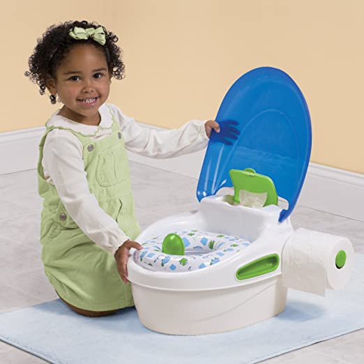 Amazon.com  Summer Infant Step-By-Step Potty Trainer and Step Stool Blue/ Green  Toilet Training Potties  Baby  sc 1 st  Amazon.com & Amazon.com : Summer Infant Step-By-Step Potty Trainer and Step ... islam-shia.org
