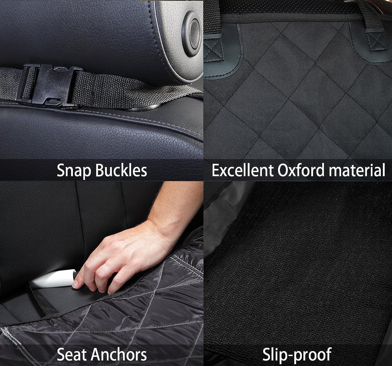 H/ängematte schwarz Kofferraumschutz Hunde Wasserfeste Autoschondecke LIFEPUL Anti-Rutsch Hundedecke Auto