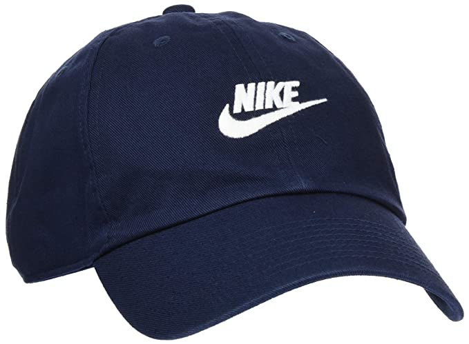 competitive price 4d100 36ad8 Nike Men s Running Cap (Blue, Cotton)